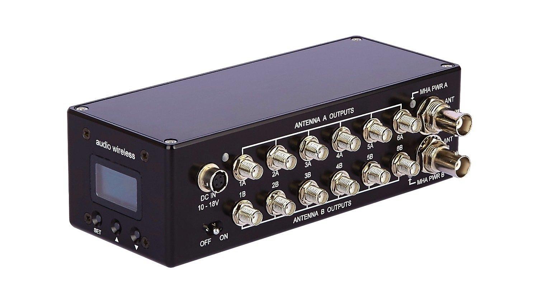 Dadm226 Diversity Antenna Distribution Module Gotham Sound Rf Input Receiver With Bandpass Filter Switch Circuit Control
