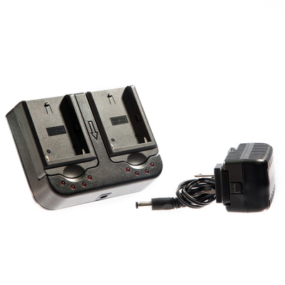 L Series Dual Bay Battery Charger Gotham Sound