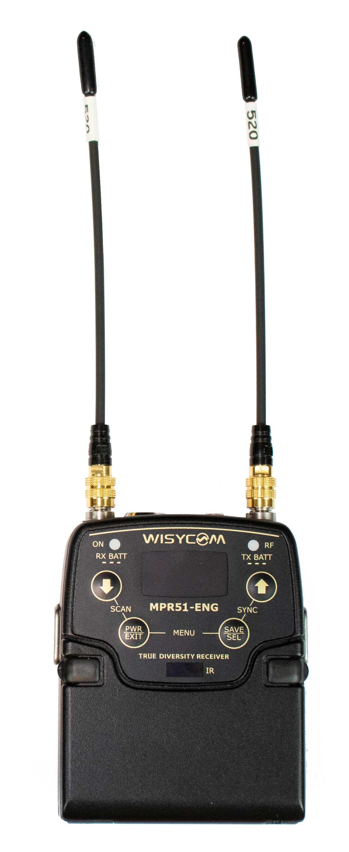 Mpr51 Eng Diversity Receiver Gotham Sound Circuit Wireless Ir Headphone Infrared Headphones Transmitter