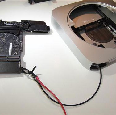 Mod a Mac Mini for DC Power   Gotham Sound