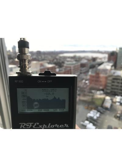 RF Explorer Pro Audio Spectrum Analyzer   Gotham Sound
