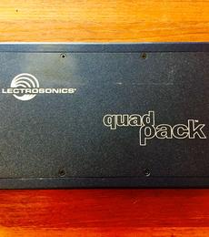 Lectrosonics Quadpack for SR Series Receivers - Used Gear | Gotham Sound